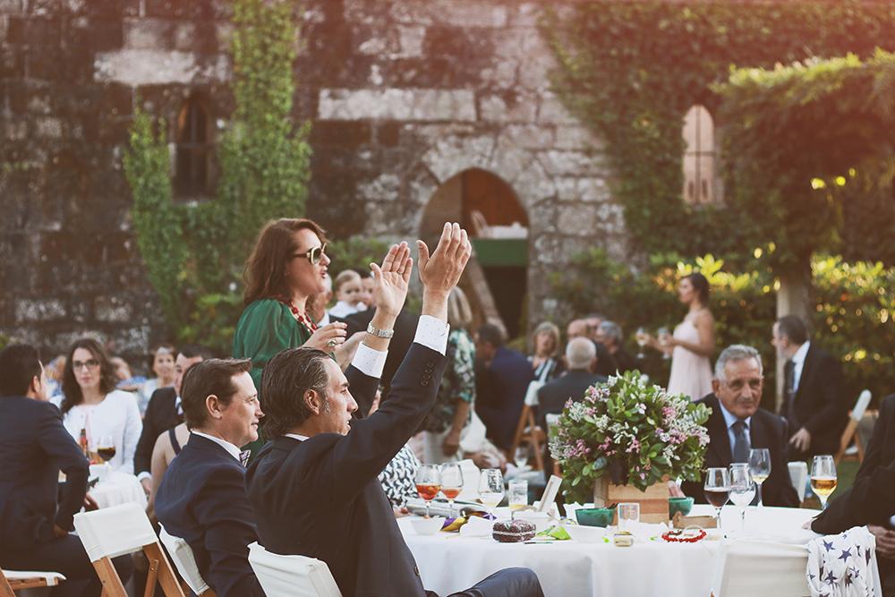 Una boda al aire libre E+C